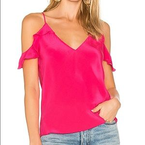 NWT bright pink Amanda Uprichard shirt.